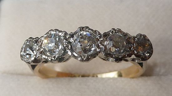 halo platinum diamond edwardian rings ring jewellery engagement floral dp